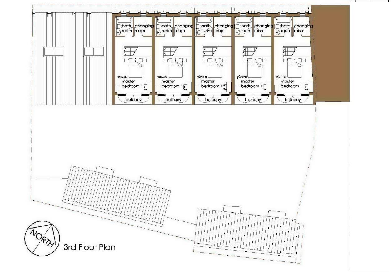Floorplans For PLANNING FOR 9 HOUSES - WHITEHALL