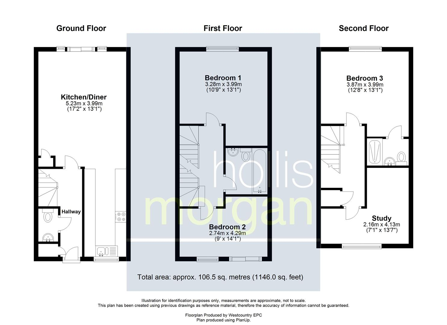 Floorplans For Victoria Mews, Victoria Park