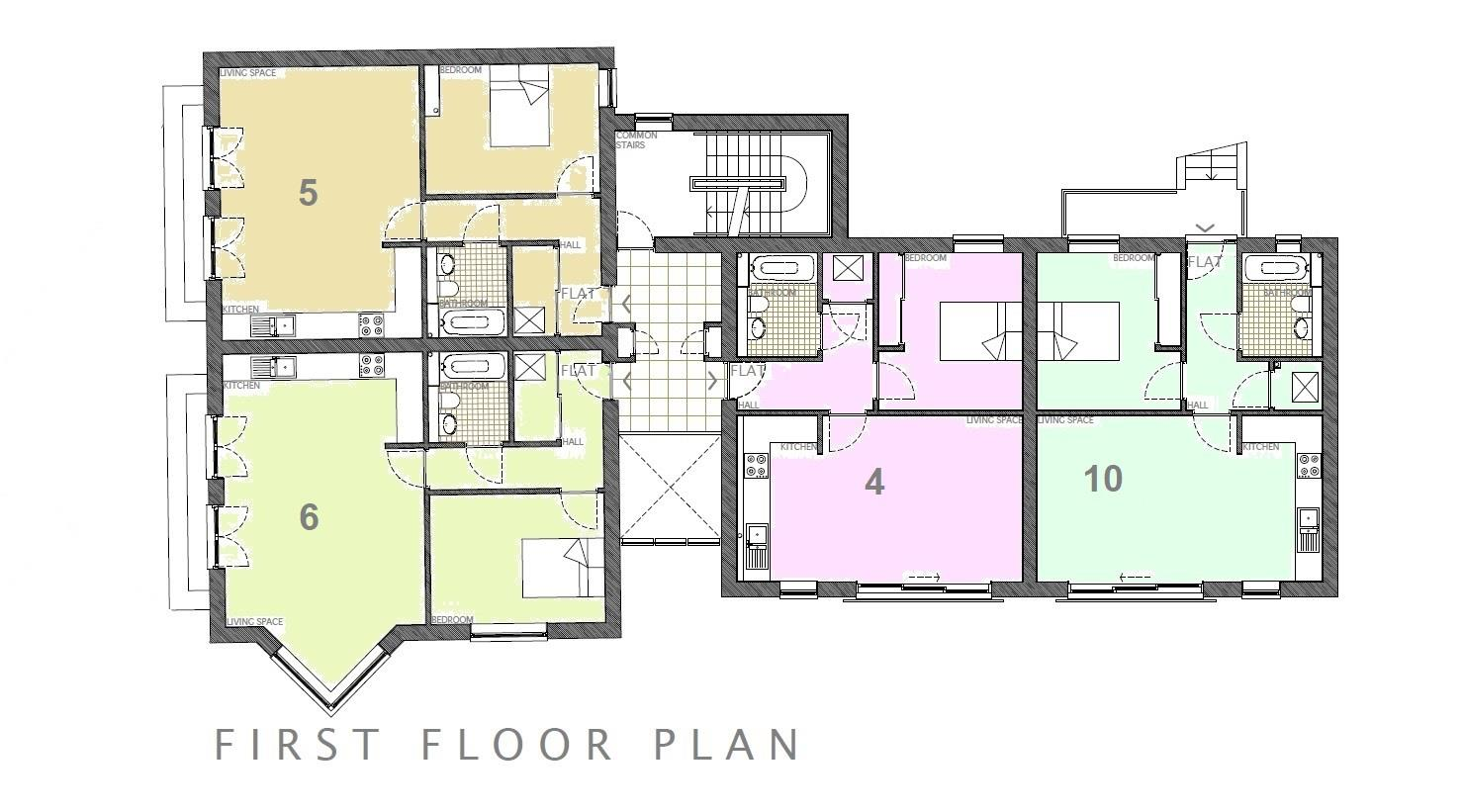 Floorplans For Alberton Court, Frenchay