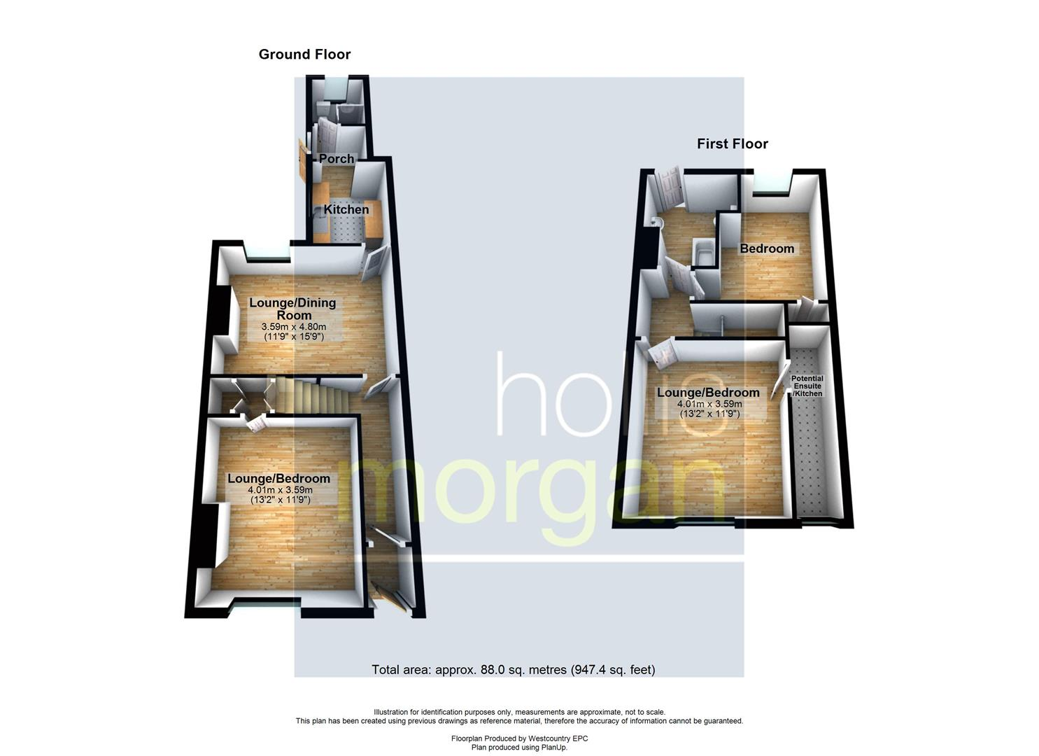 Floorplans For HOUSE / FLATS FOR UPDATING - WSM