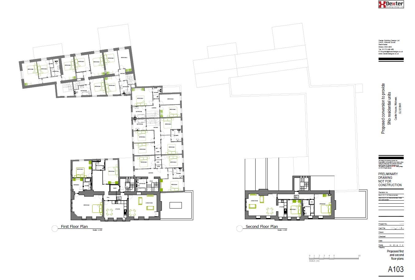 Floorplans For PLANNING GRANTED TO CONVERT / GDV £3.125M