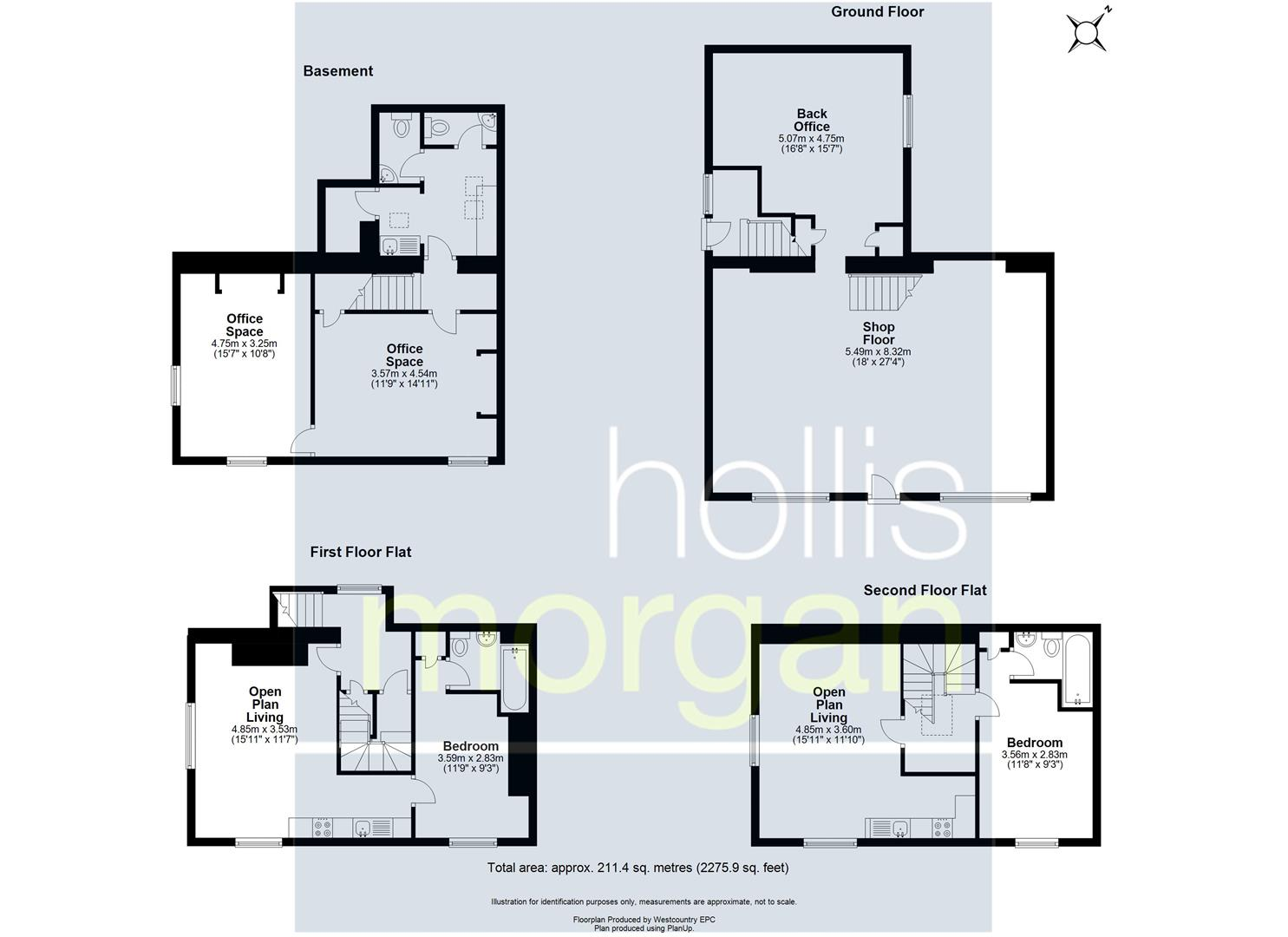 Floorplans For MIXED USE FREEHOLD - CLIFTON