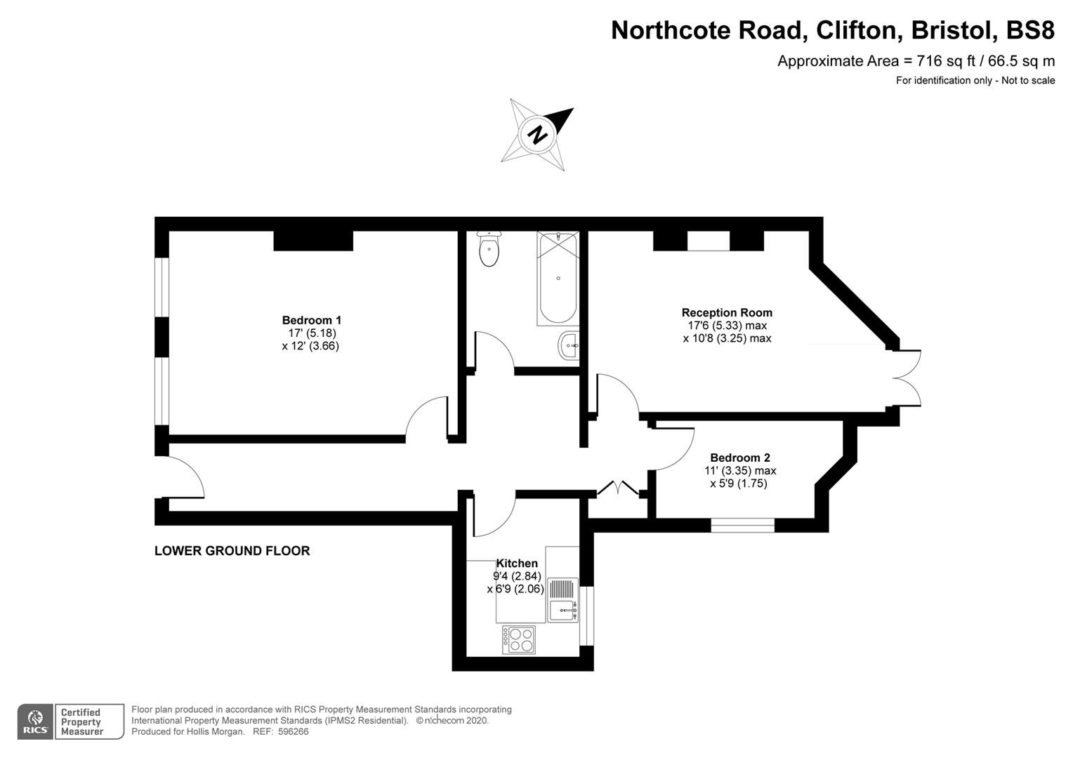Floorplans For Northcote Road, Clifton