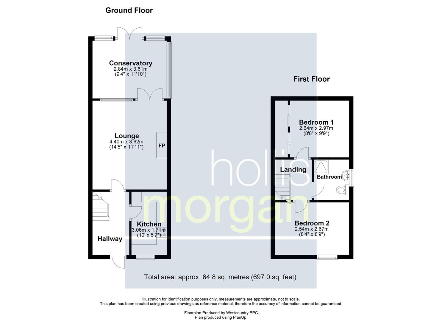 Floorplans For REDUCED £ FOR AUCTION - BS14