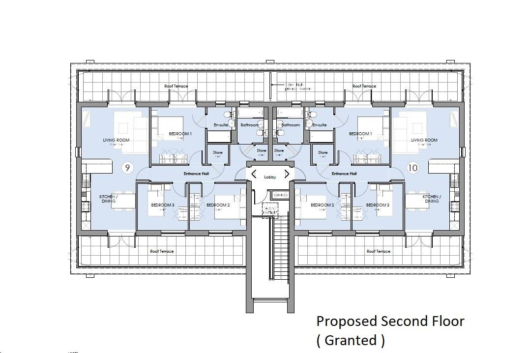 Floorplans For PP GRANTED - 10 UNITS - BS5