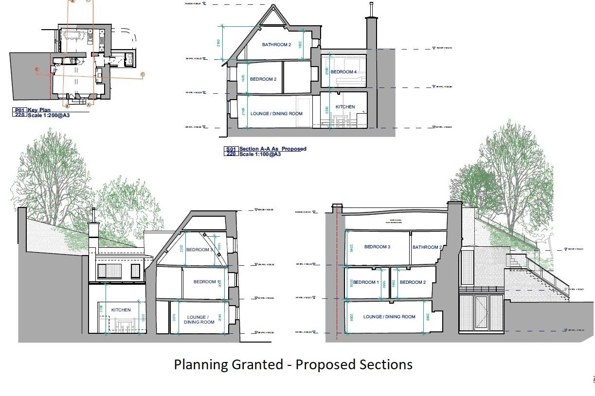 Floorplans For COTSWOLD  HOME WITH PLANNING TO IMPROVE