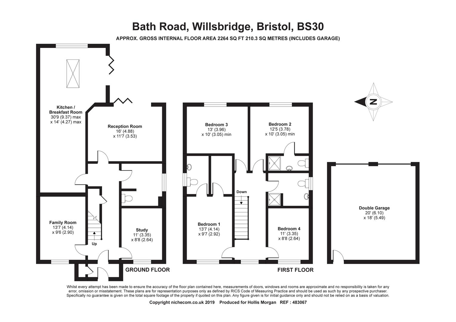 Floorplans For Bath Road, Willsbridge