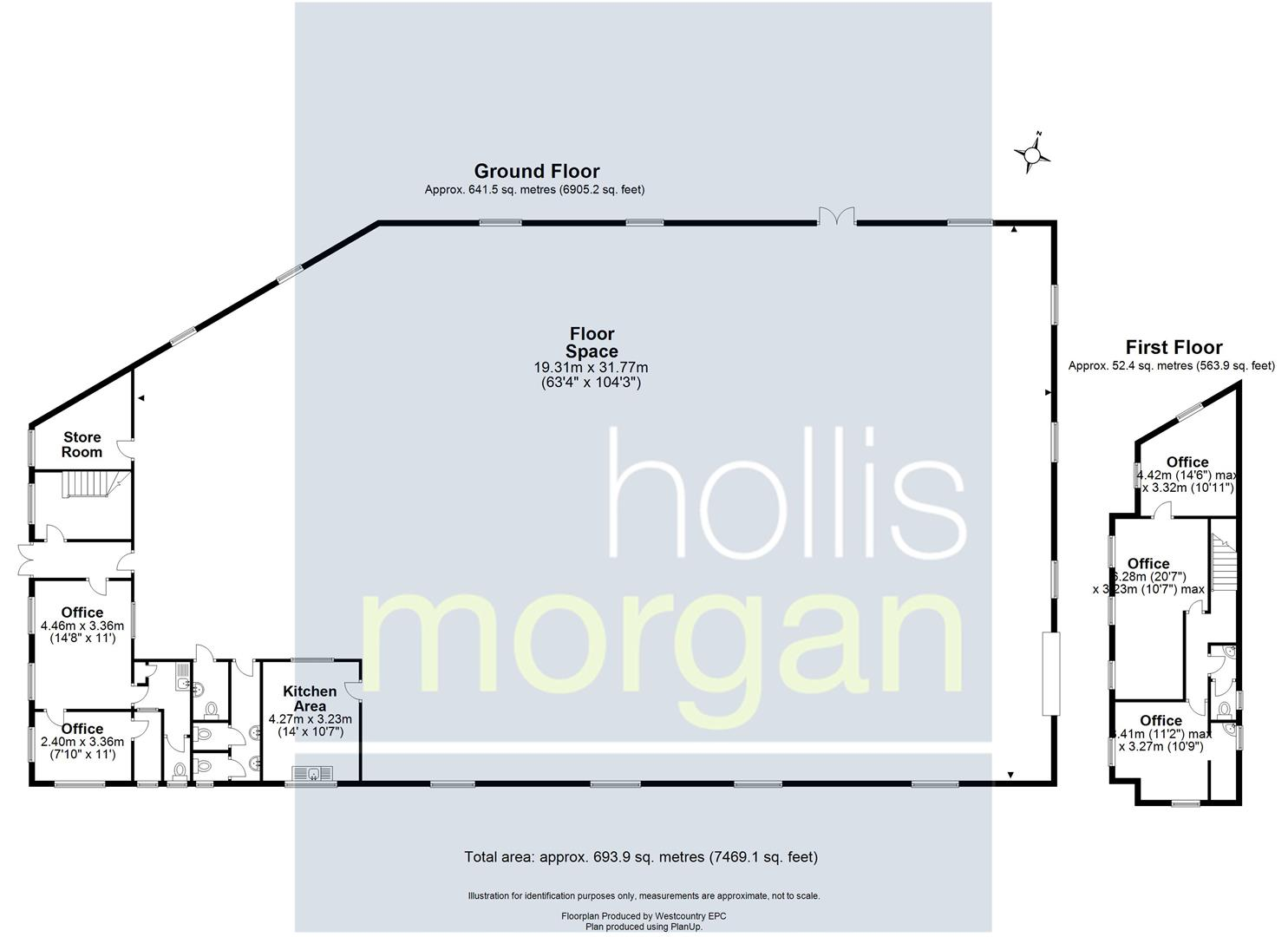 Floorplans For COMMERCIAL INVESTMENT - £35K PA