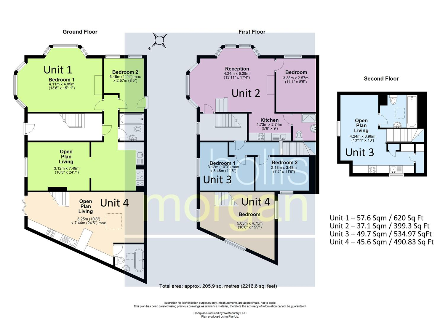 Floorplans For FREEHOLD BLOCK OF FLATS