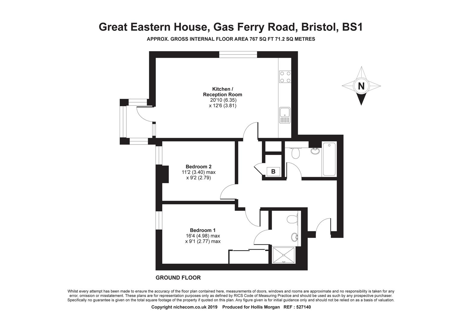 Floorplans For HARBOUR FLAT WITH PARKING - REDUCED PRICE FOR AUCTION