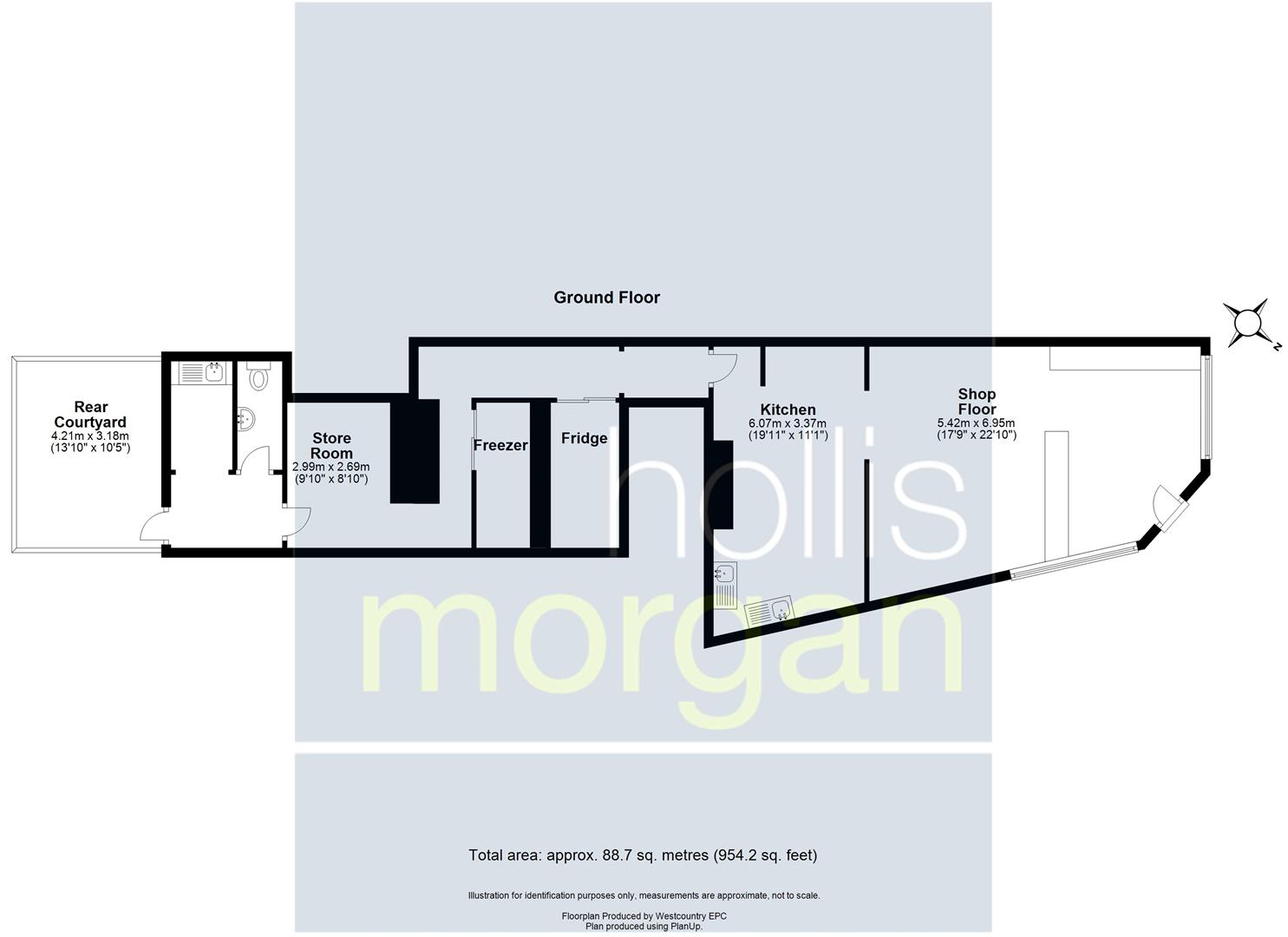 Floorplans For COMMERCIAL INVESTMENT - £16K PA