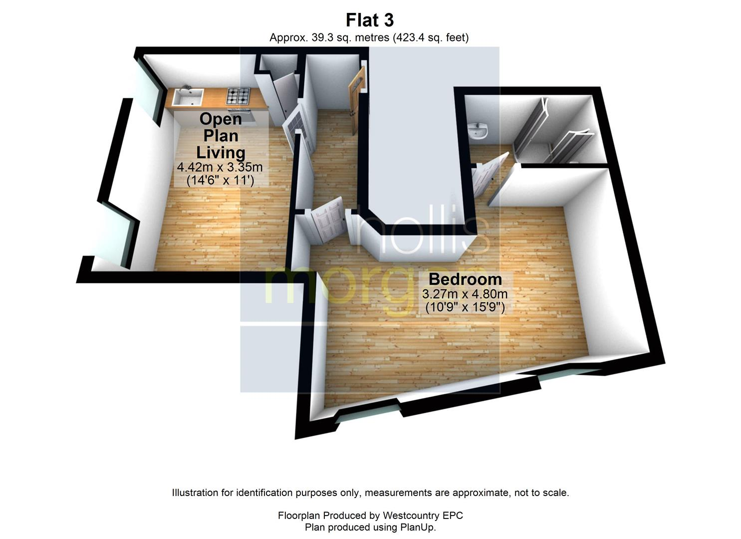 Floorplans For RENOVATED 1 BED - REDUCED PRICE FOR AUCTION