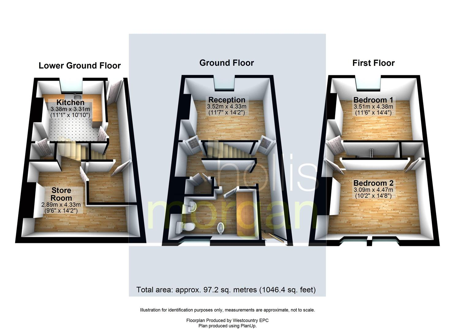 Floorplans For HOUSE FOR UPDATING - TOTTERDOWN