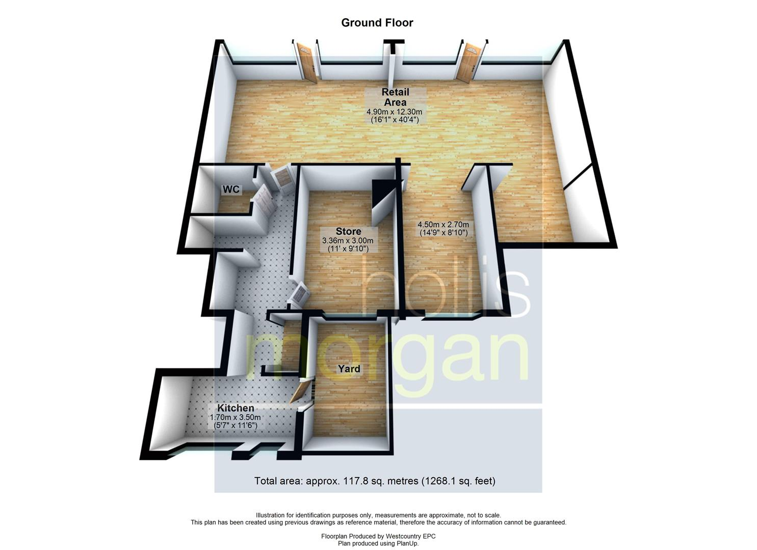 Floorplans For COMMERCIAL INVESTMENT - £14k pa