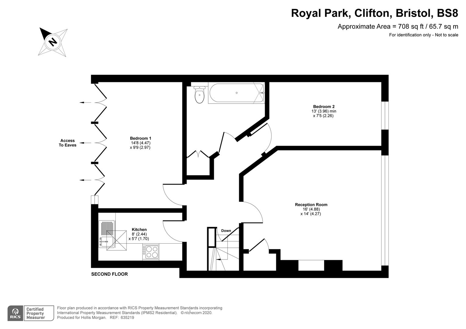 Floorplans For CLIFTON FLAT FOR UPDATING & REDUCED PRICE