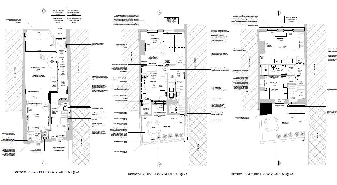 Floorplans For RESI DEVELOPMENT - OLD MARKET