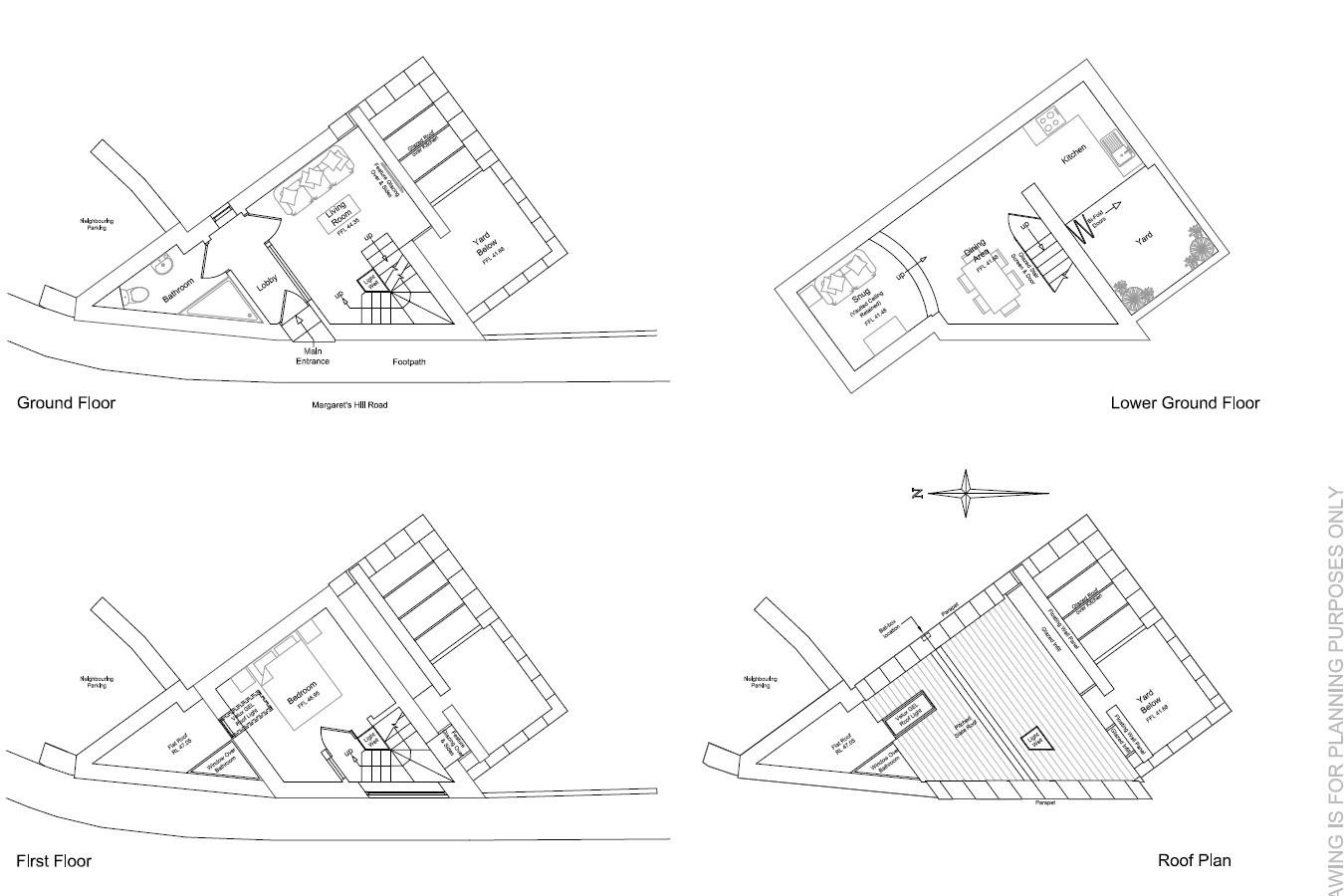 Floorplans For PLANNING FOR TOWNHOUSE - BATH