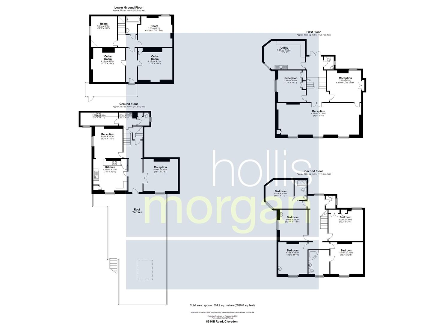 Floorplans For FAMILY HOME FOR UPDATING - CLEVEDON