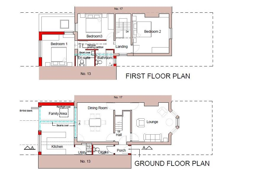 Floorplans For PLANNING TO EXTEND - WESTBURY PARK