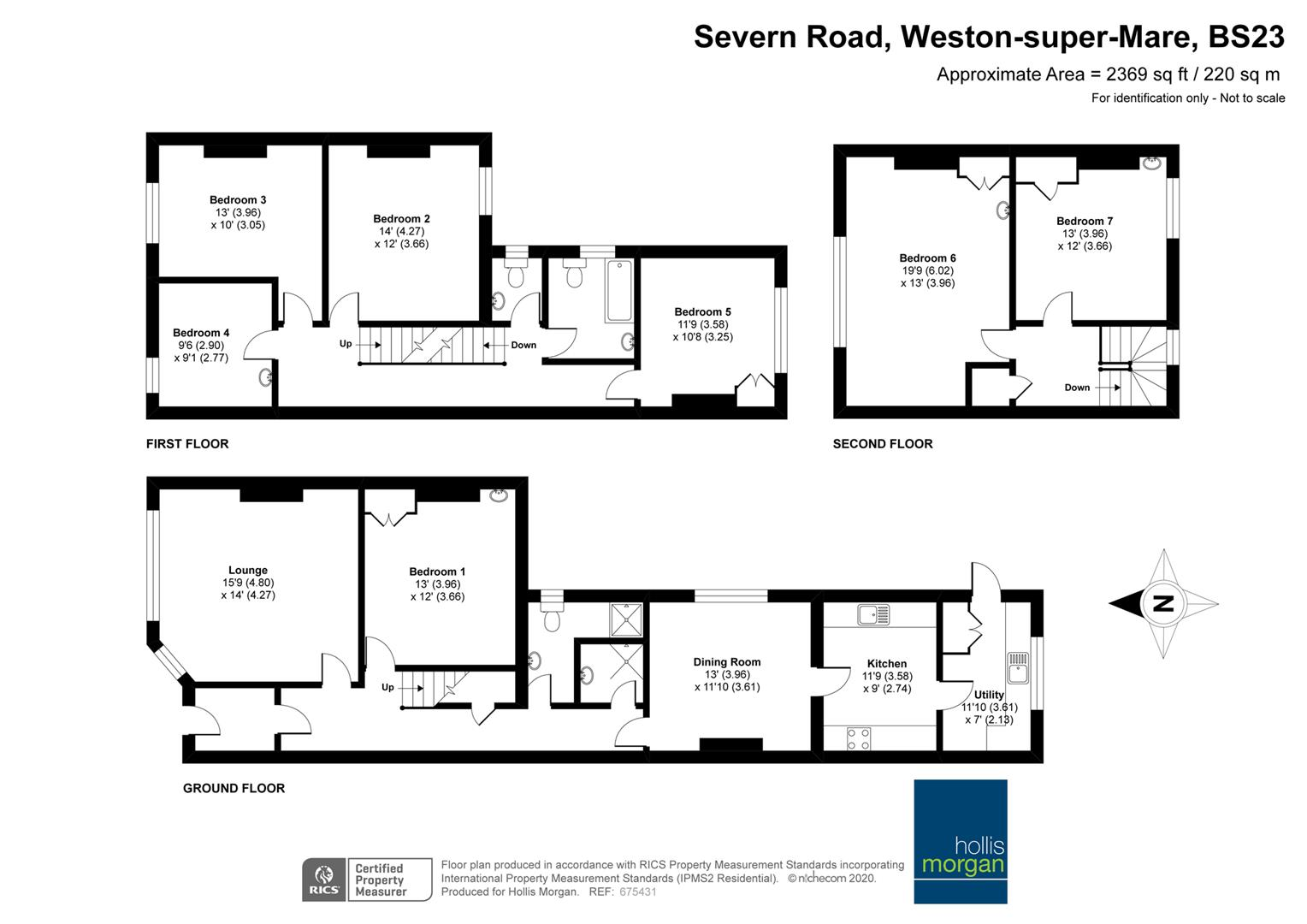 Floorplans For 7 BED PERIOD PROPERTY - WSM