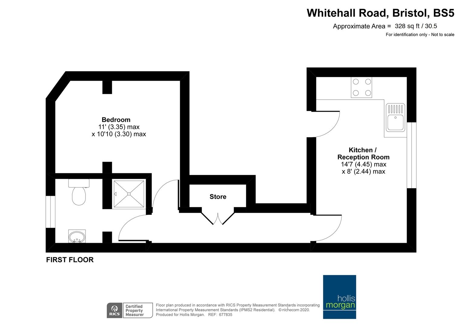 Floorplans For Whitehall Road, Whitehall
