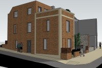 Images for PLANNING GRANTED - 2 X TOWNHOUSES