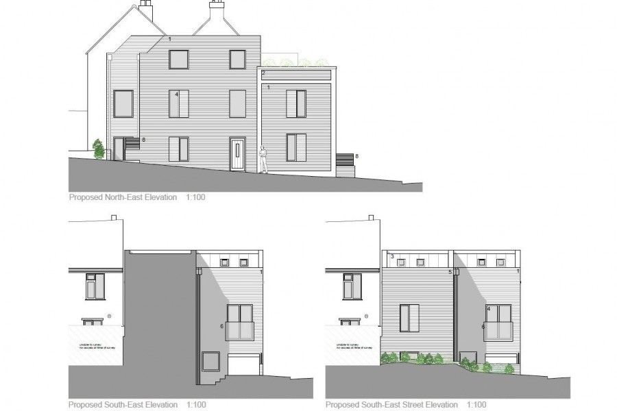 Images for PLANNING GRANTED - 2 X TOWNHOUSES EAID:hollismoapi BID:11