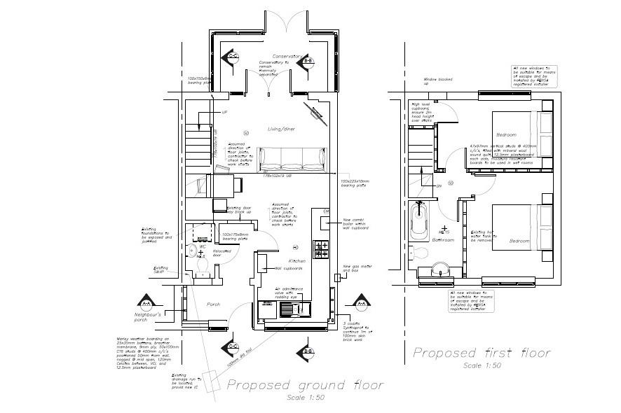 Floorplans For HOUSE FOR UPDATING + PLANING TO EXTEND