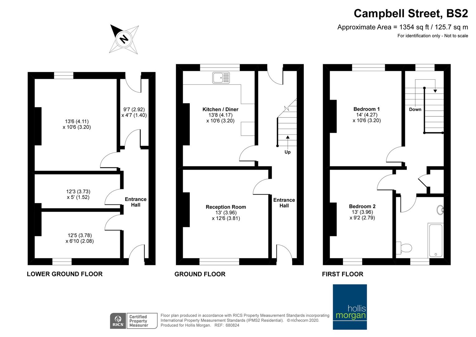 Floorplans For Campbell Street, St Pauls
