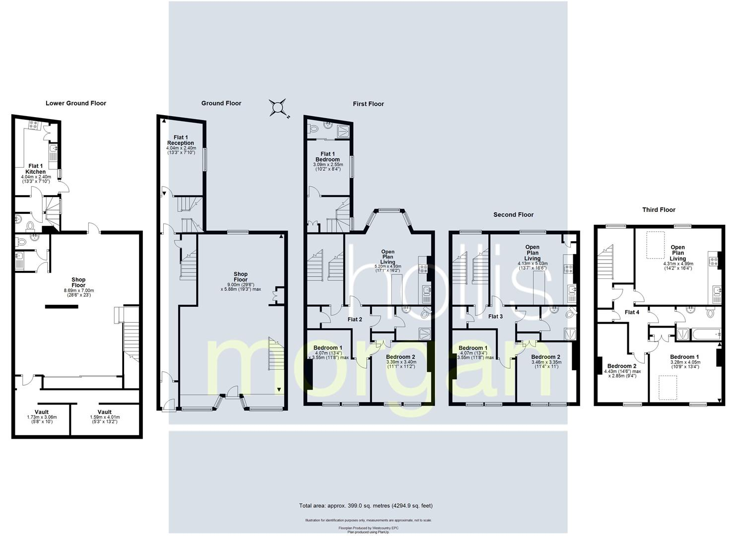 Floorplans For PRIME CLIFTON VILLAGE FREEHOLD INVESTMENT