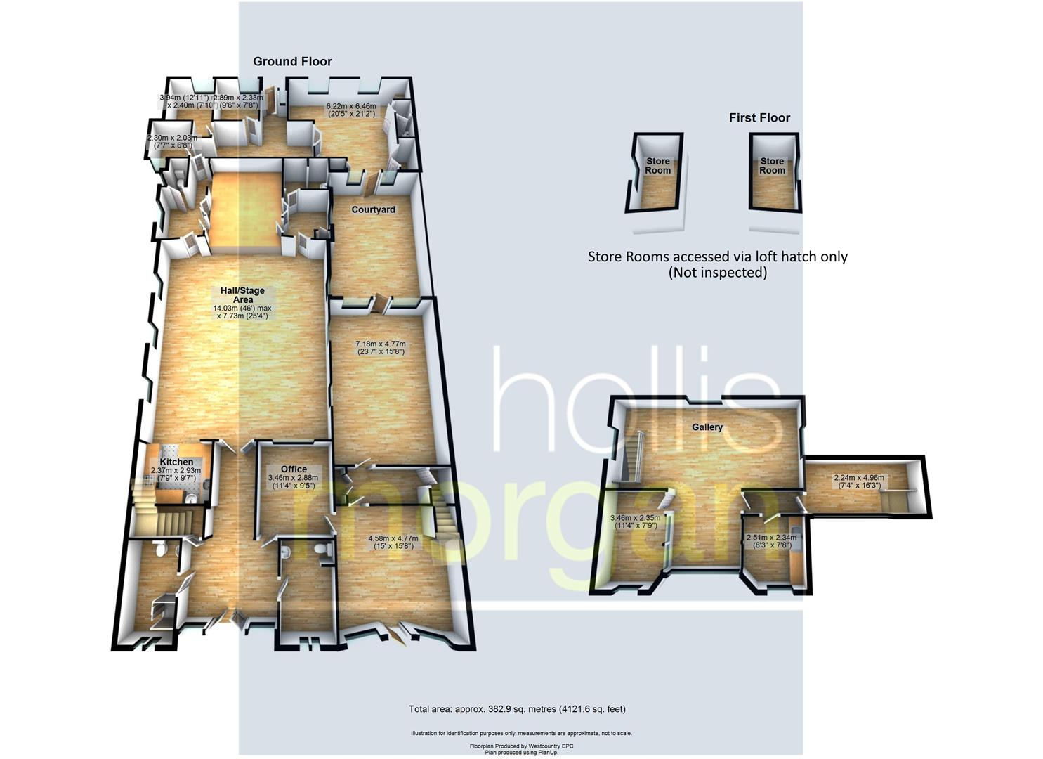 Floorplans For DETACHED CHAPEL WITH RESI PLANNING - WSM