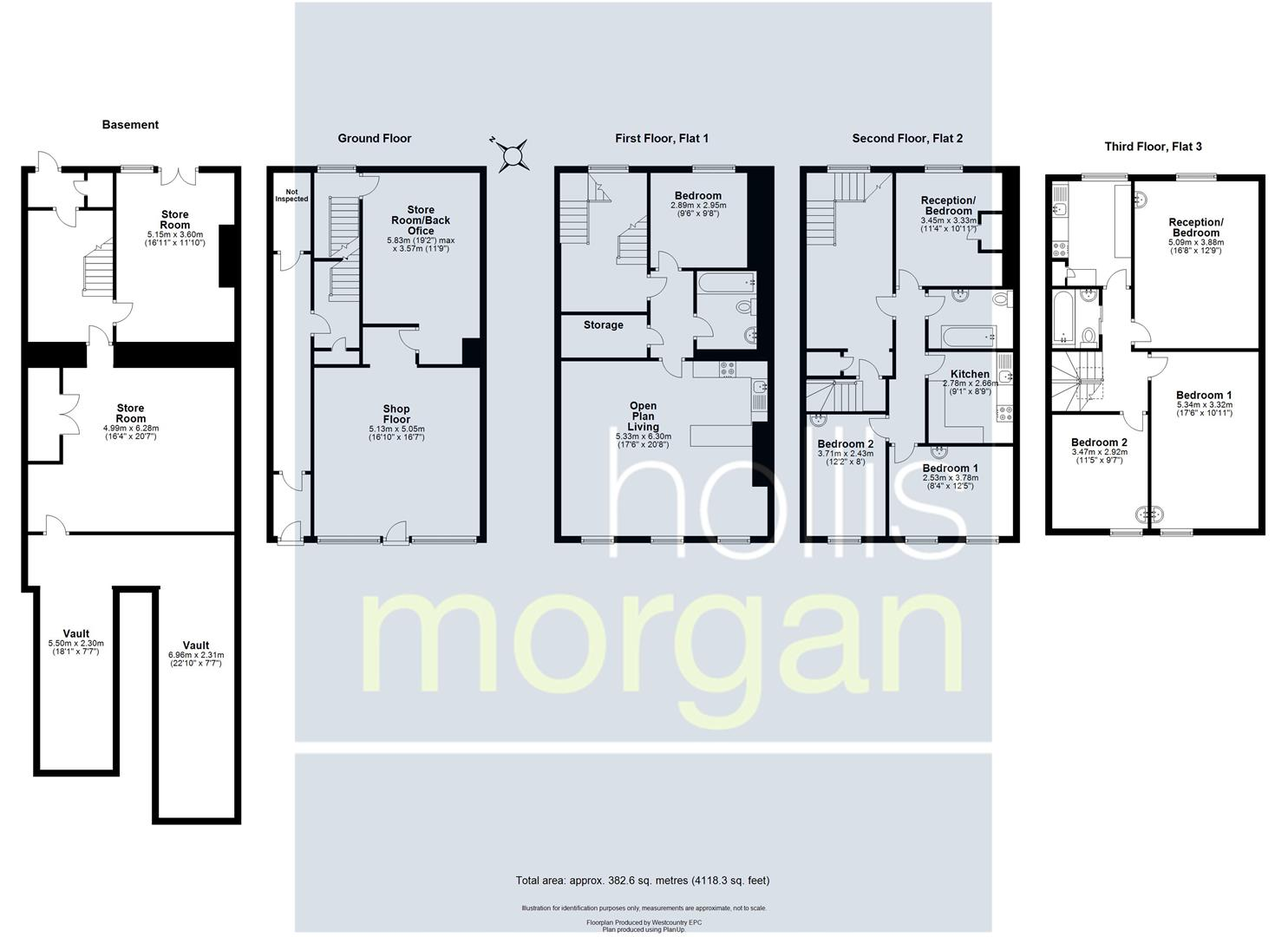 Floorplans For PRIME MIXED USE INVESTMENT - BS1