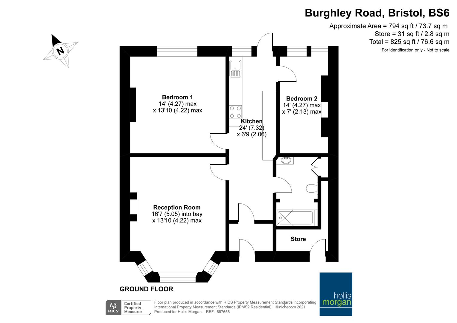 Floorplans For Burghley Road, St Andrews