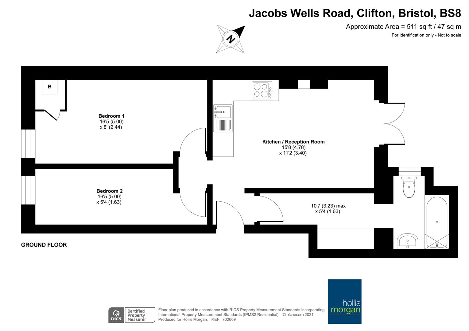 Floorplans For Jacobs Wells Road, Clifton