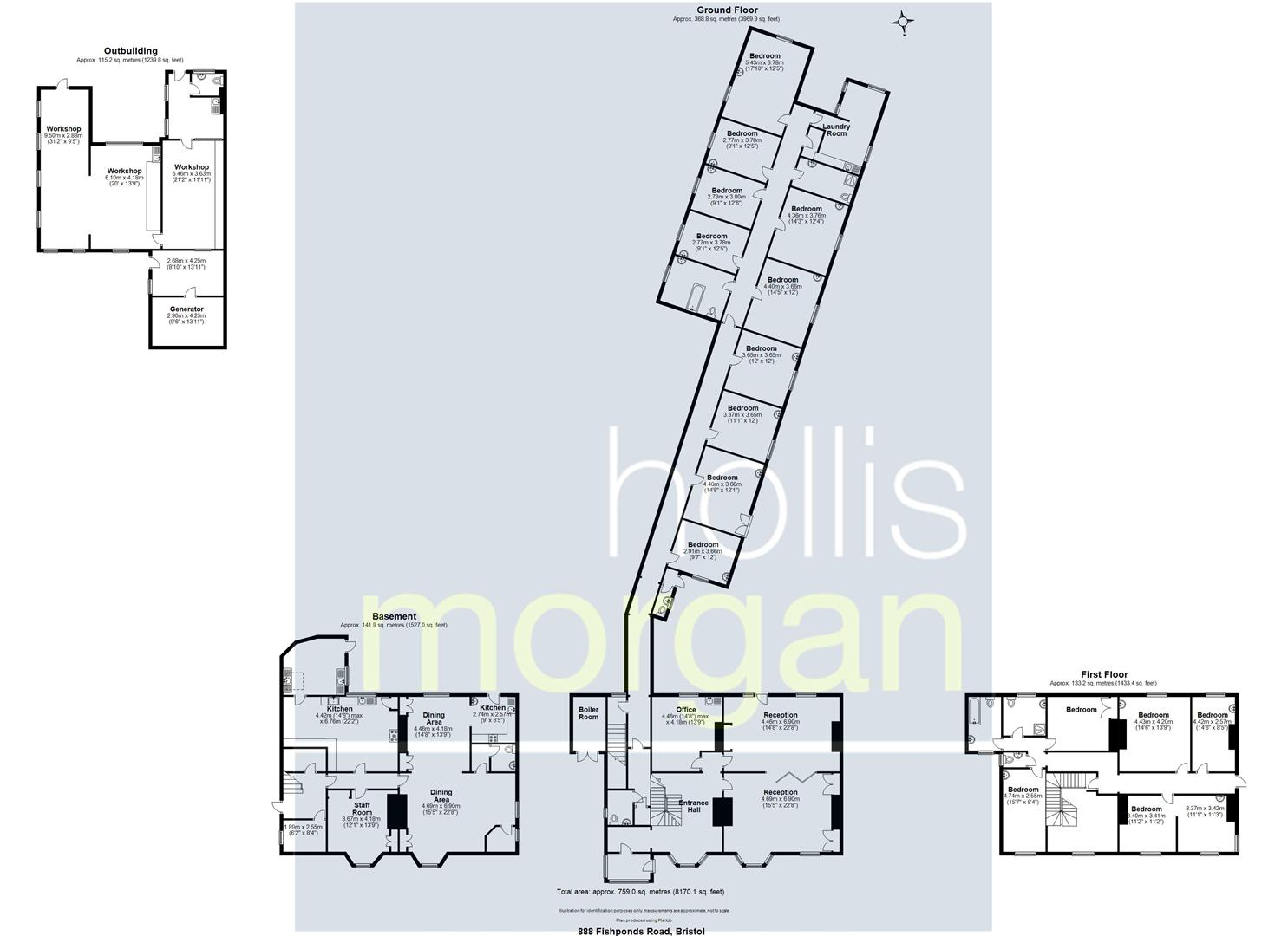 Floorplans For DETACHED HOUSE ON 0.5 ACRE PLOT - FISHPONDS