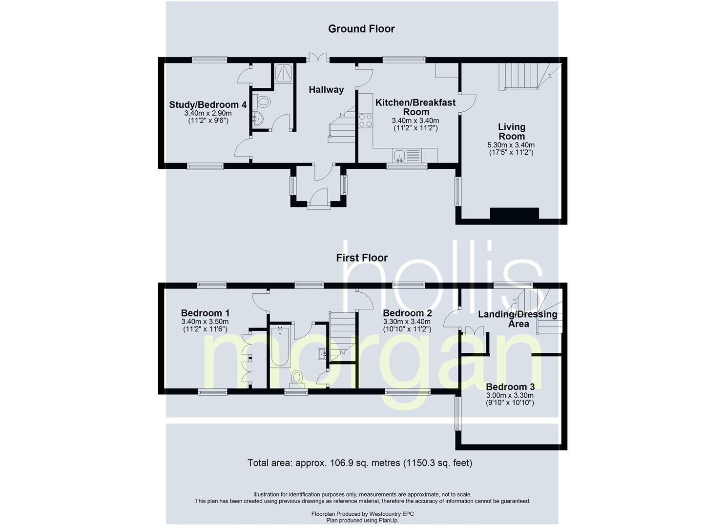 Floorplans For COTTAGE FOR BASIC UPDATING - BS36