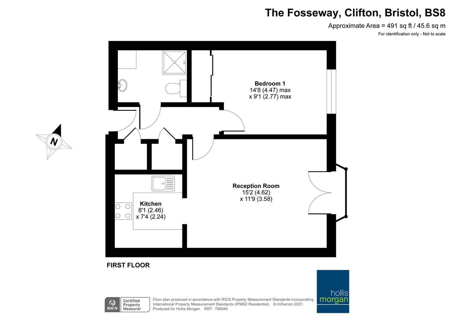 Floorplans For Fosseway Court, Clifton