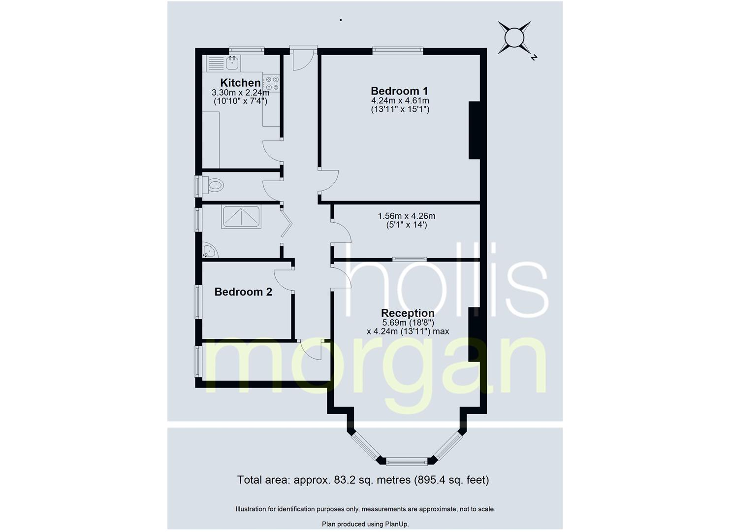 Floorplans For FREEHOLD BLOCK OF FLATS - CLIFTON